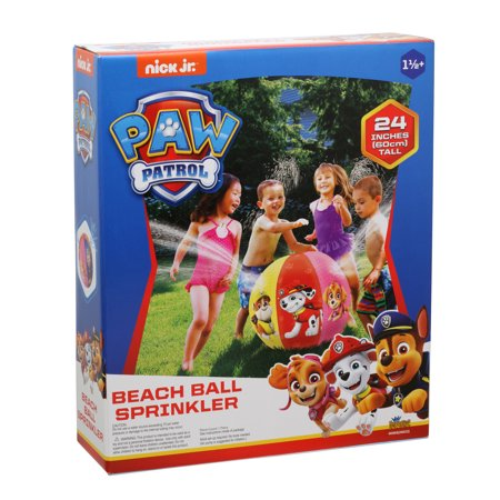 Paw Patrol Beach Ball Sprinkler