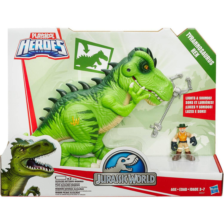 Playskool Heroes Jurassic World T Rex Walmart Com