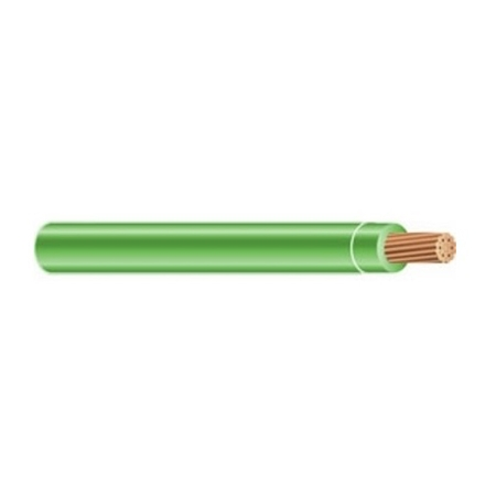 Ventev 6 Awg Green Insulated 19 Strand Copper Wire 1 Foot