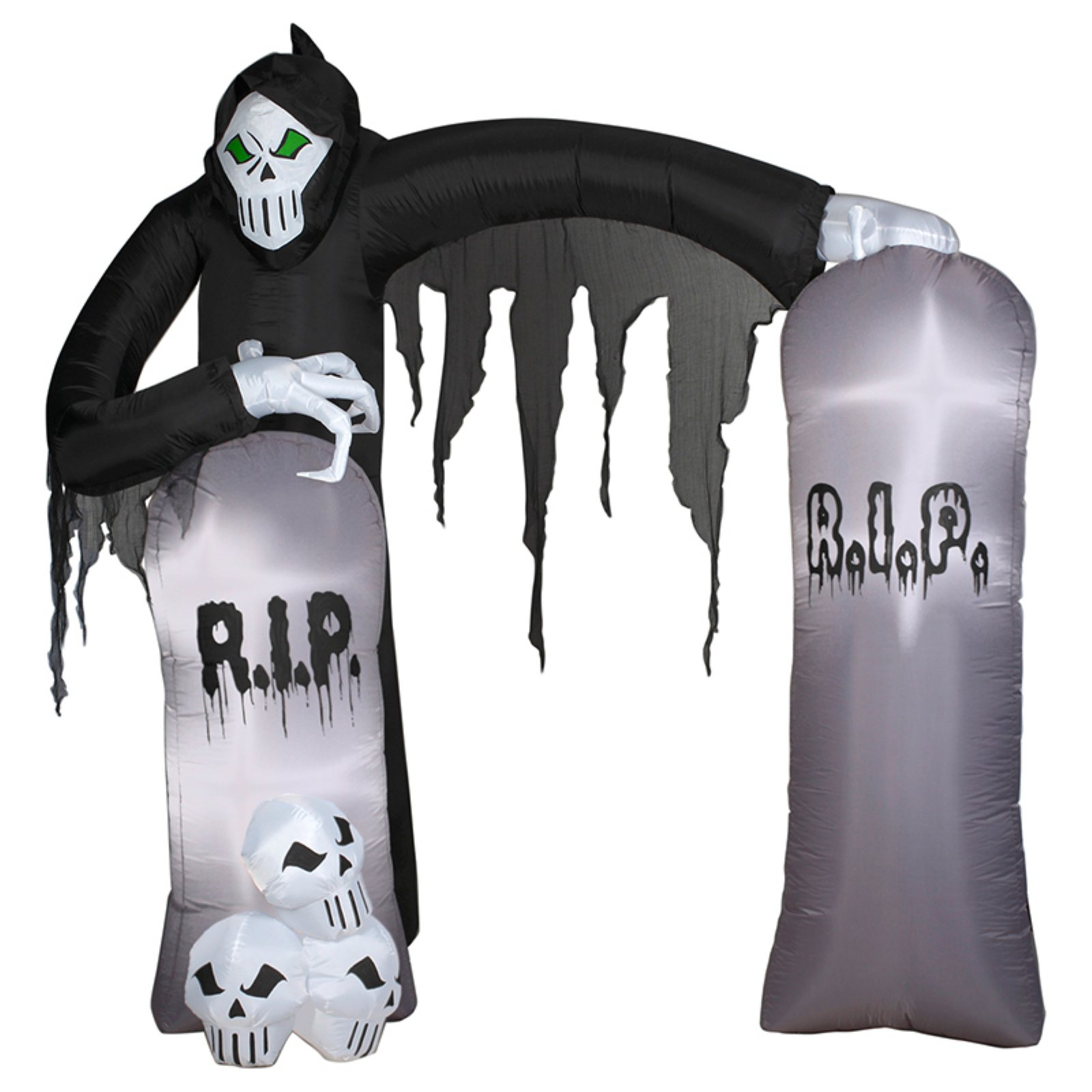 Reaper Archway Airblown with Lights Halloween Decor