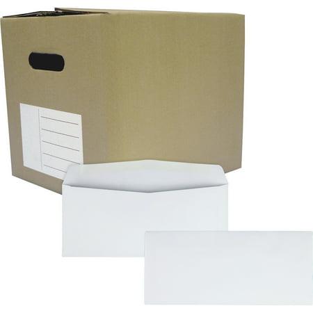 Quality Park Business Envelopes, #10, Gummed Flap, 1000 Count Brightness 1000 Envelopes