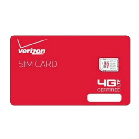 Verizon Wireless Nfc Nano 4G Lte Certified 4Ff Sim Card