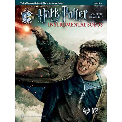 Selections from the Harry Potter Instrumental Solos: Piano Accompaniment Level 2-3, Complete Film Series