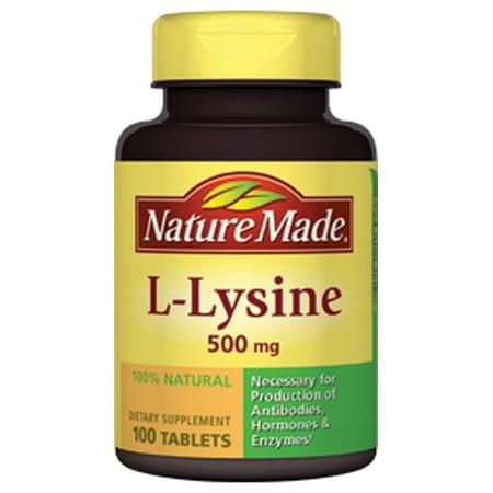 L Lysine  Mg Nature Made