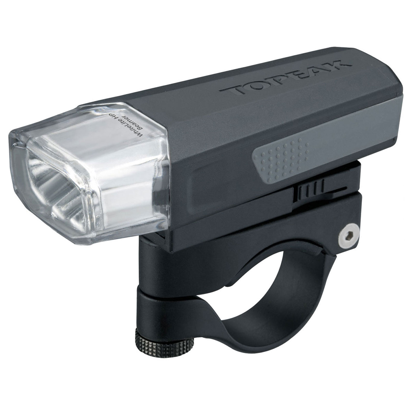 Topeak WhiteLite HP Beamer 3 Bright LED Front Mounted Bike Light and Flashlight