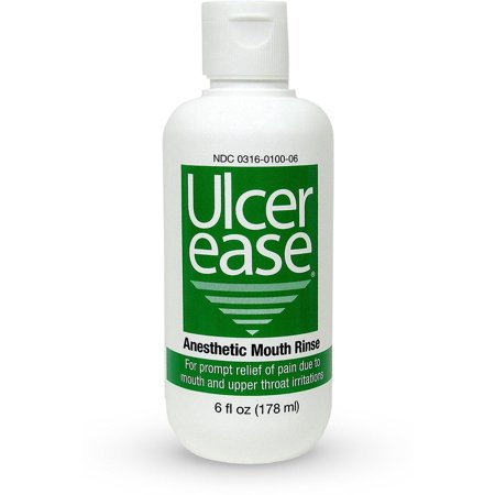Ulcer Ease Medicated Mouth Rinse 6 oz