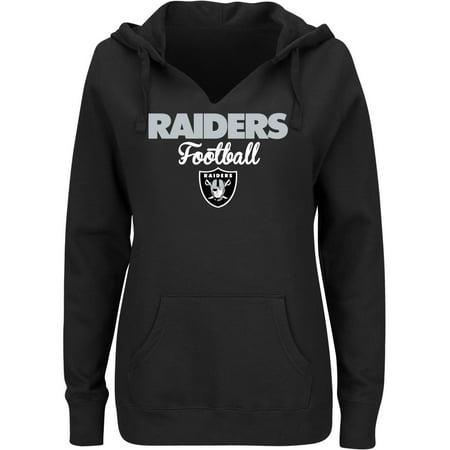 NFL Oakland Raiders Ladies Fleece Hoodie by