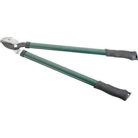 Landscapers Select Anvil Lopper, 30 Mm, Carbon Steel Blade, Steel Oval, Soft Pvc Grip Handle, 24.5 In L (Lopper Steel Handle)