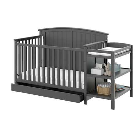 Storkcraft Steveston 4 in 1 Crib and Changer with Drawer