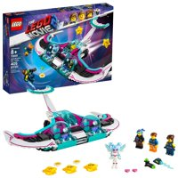 LEGO The Movie 2 Wyld-Mayhem Star Fighter 70849 Toy Spaceship (405 Pieces)