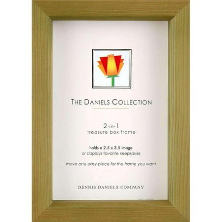 Dennis Daniels W5502.5G 2.5 x 3.5 in. Treasure Box Frame - Olive ...