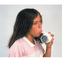 Fabrication Enterprises 12-1710 Buhl Portable Spirometer with Mouthpieces