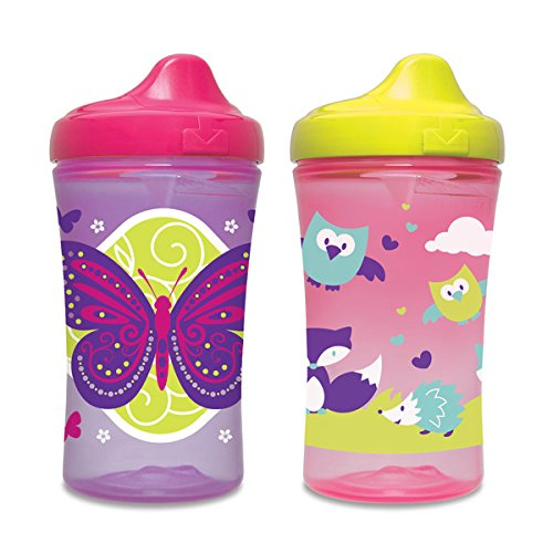 Gerber Graduates Advanced Hard Spout 10-oz Trainer Cups, BPA-Free, 2 count