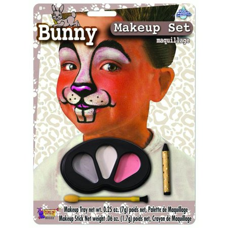 Cute Colors Bunny Halloween Face Paint Animal Child Makeup Kit