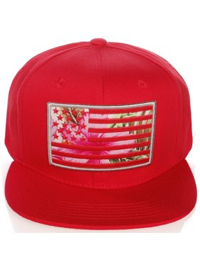 5d44d9934fa Product Image American Cities Men s USA Flag National Snapback Hat Cap 3D  Embroidery