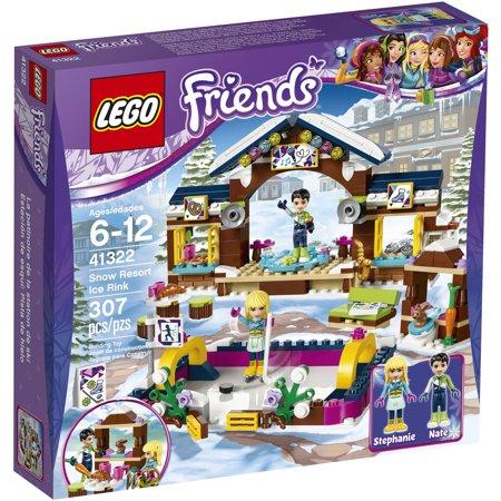 Lego Friends Snow Resort Ice Rink 41322