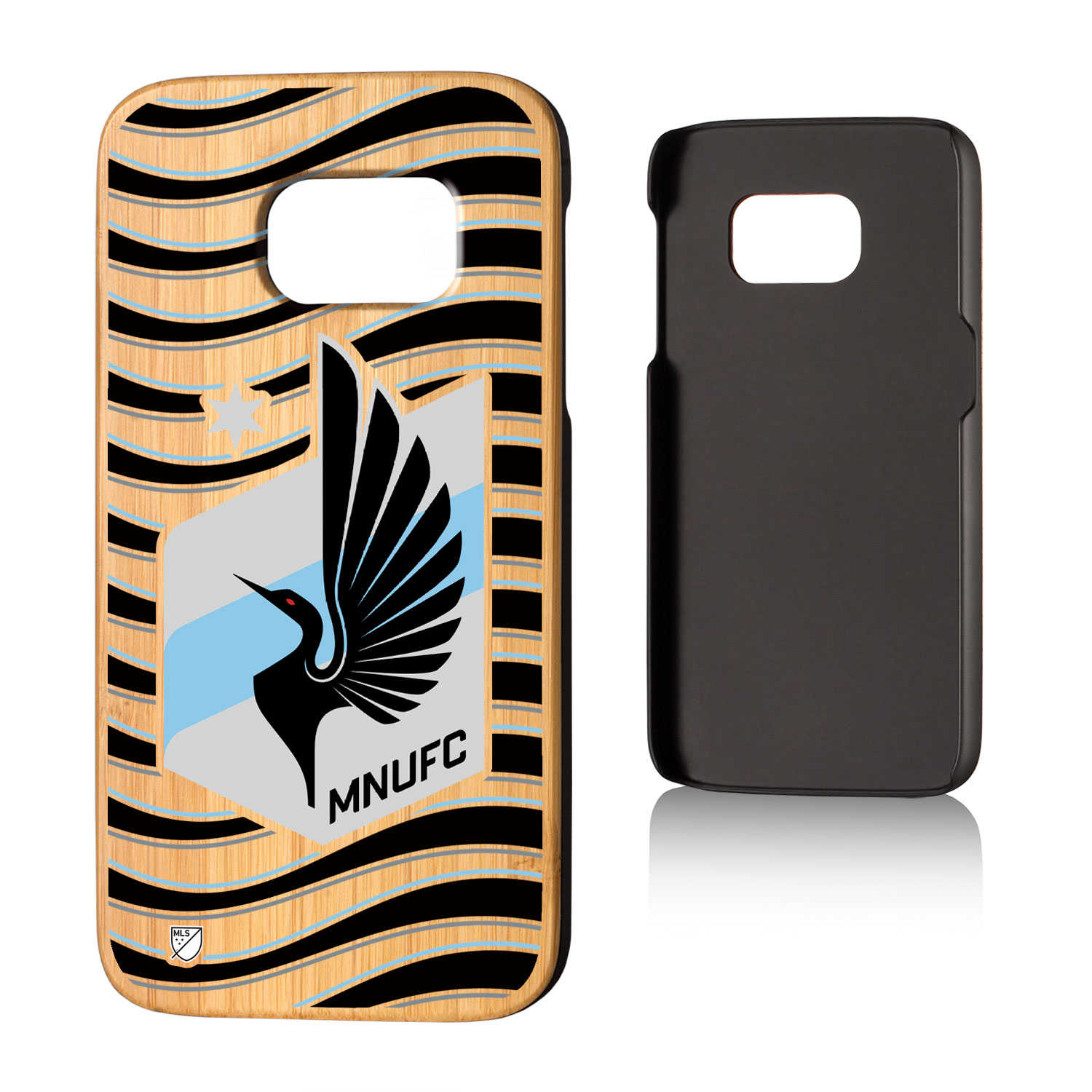 Minnesota United FC MNUFC Wave Bamboo Case for Galaxy S7