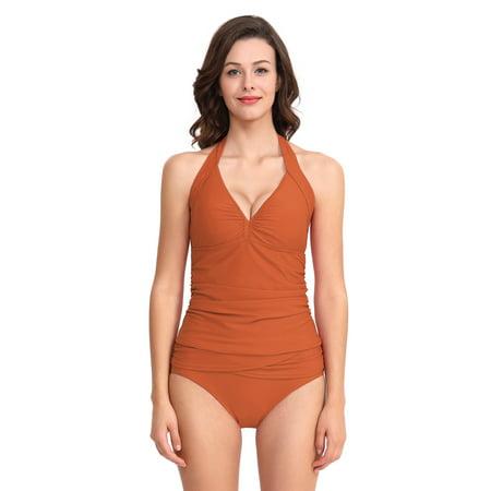 8bdaa2586d8f7 Sexy Dance - 2019 New Tankini Sets Sexy Women Ladies Girls Tummy Control  Two-piece Bandage Swimwear Swimsuit Beachwear Bathing Suit Push Up Padded  Bra ...