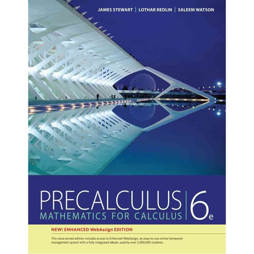 Precalculus, Enhanced Webassign Edition (Book Only)