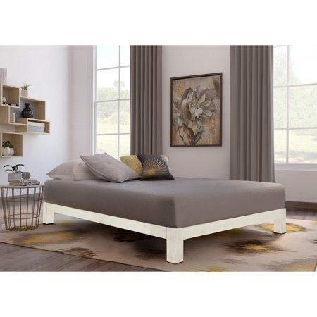Motif Designs Motif Design Aura White Platform bed ()