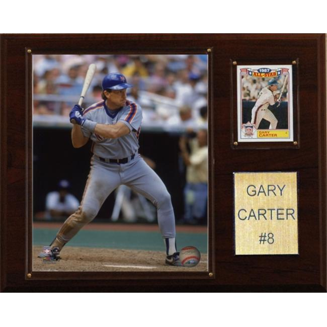 C&I Collectables MLB 12x15 Gary Carter New York Mets Player Plaque
