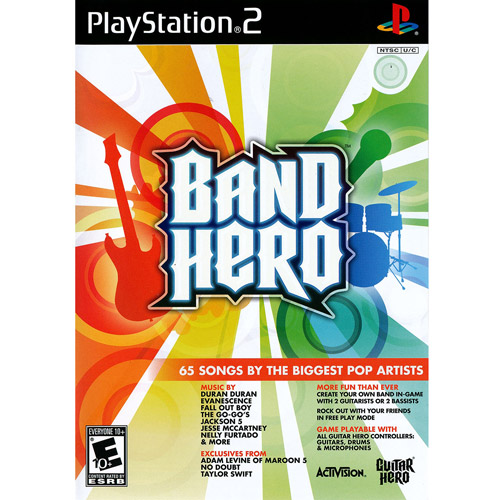 Band Hero Taylor Swift - software only w/ Bonus Walmart.com Exclusive Backstage Code (PS2)
