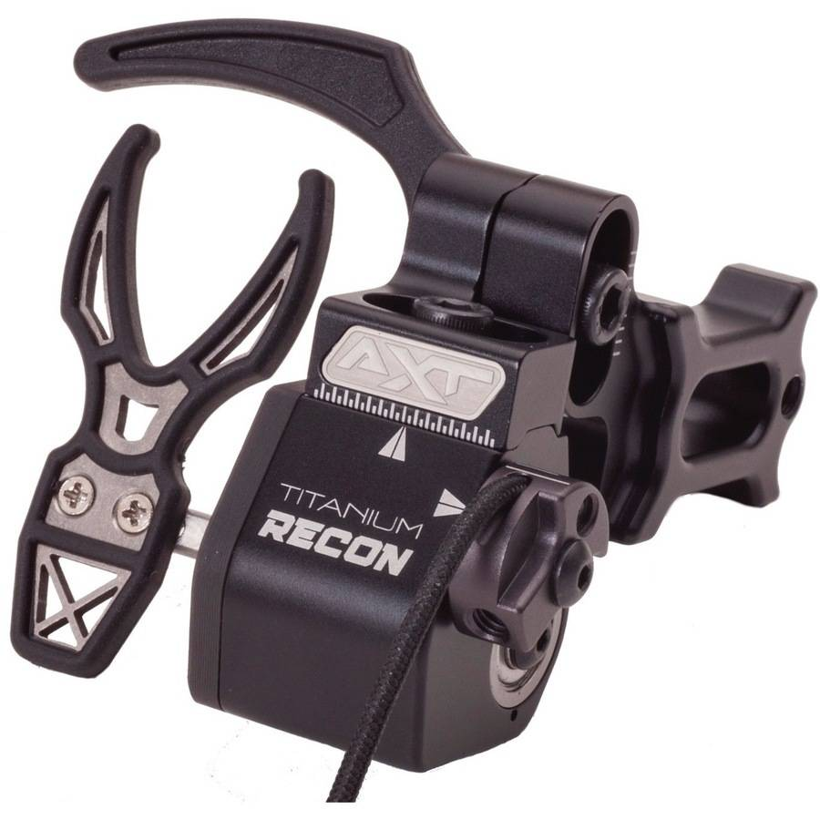Arche Xtreme Titanium Recon Arrow Rest, Black