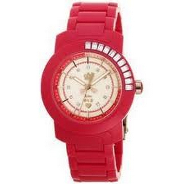 Juicy Couture BFF Hot Pink plastic Watch 1900652