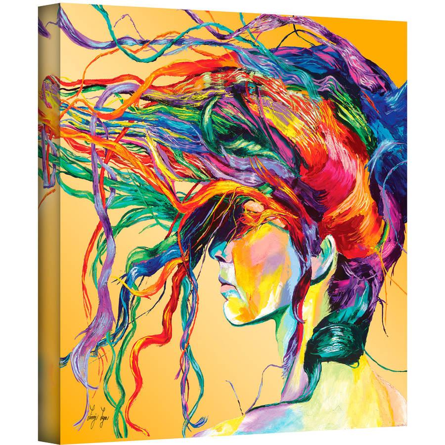 "ArtWall Linzi Lynn ""Windswept"" Gallery-wrapped Canvas"