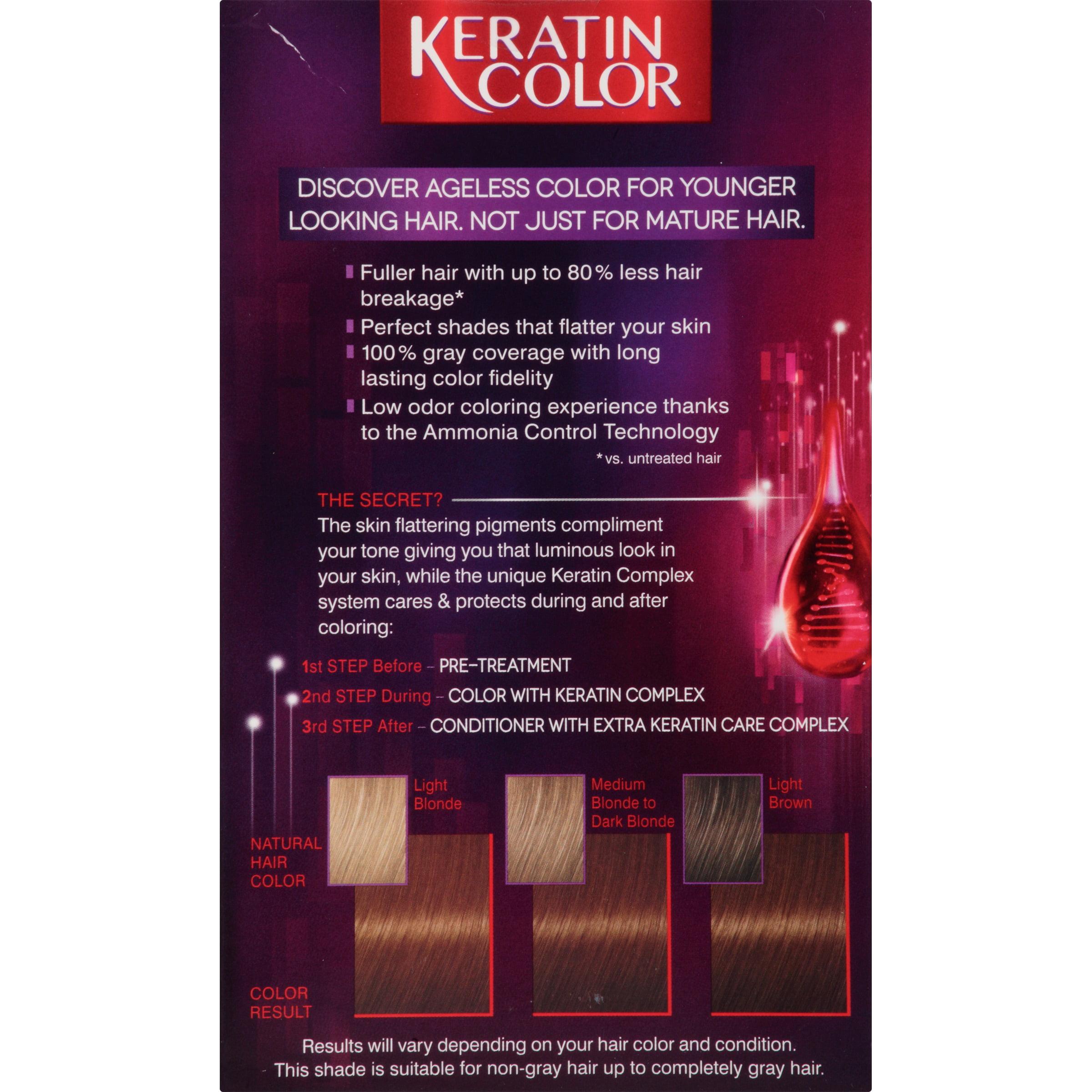 schwarzkopf keratin anti age hair color cashmere brown 5 5 2 03