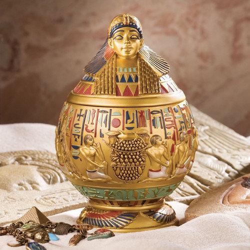 Design Toscano ImSety Canopic Decorative Urn
