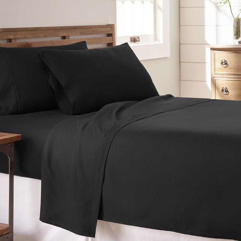 Noble Linens Premium Ultra Soft 4 Piece Bed Sheet Set