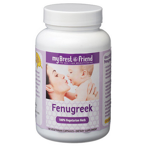 My Brest Friend Fenugreek Capsules, 100ct
