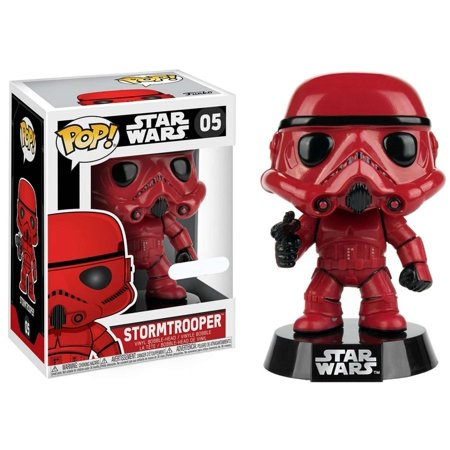 Casual Custom Bobble Head - Funko POP! Star Wars Stormtrooper Vinyl Bobble Head [Red]