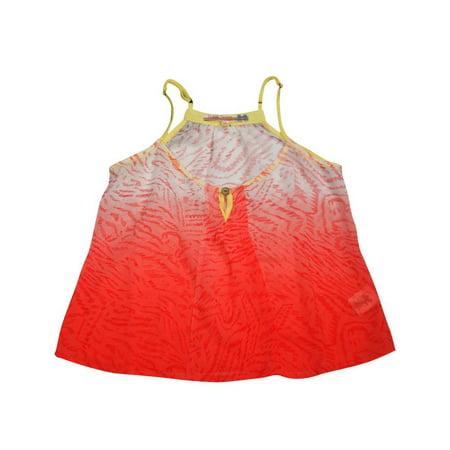 Vintage Havana - Big Girls Dip Dye Tank coral dip dye / 14