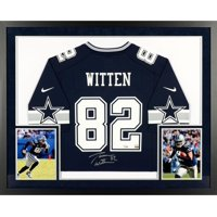 Jason Witten Dallas Cowboys SM Deluxe Framed Autographed Navy Game Jersey - Fanatics Authentic Certified
