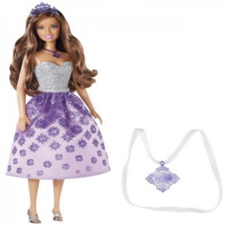Barbie Princess Teresa Doll and Gift for Girl Necklace - Gifts For Princesses