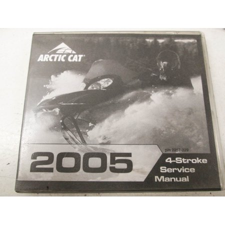 Car Service Manual - Arctic Cat 2257-229 205 4-Stroke Snowmobile Service Manual CD QTY 1
