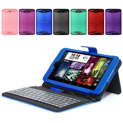 "Visual Land 8"" IPS Tablet Quad Core 16GB includes Keyboard Case"