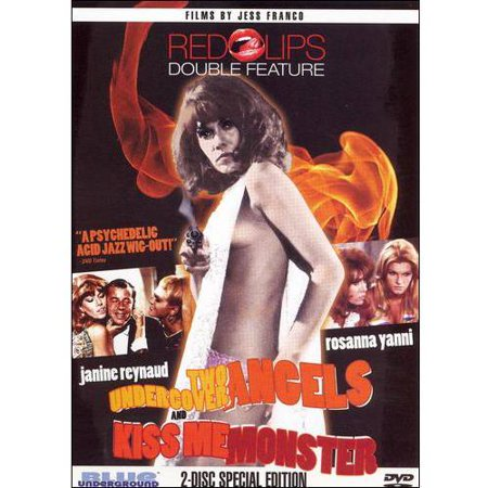 Red Lips: Two Undercover Angels & Kiss Me Monster (DVD)