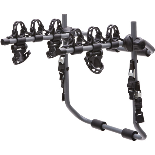 SportRack SR3152 Pursuit 3 Rear Mount Bike Carrier, 3-Bikes, Granite Gray