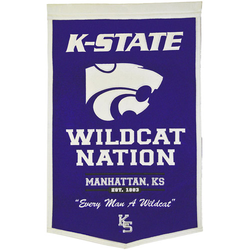 NCAA Powerhouse Banner, Kansas State Wildcats