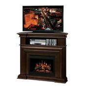 Dimplex Montgomery Corner Electric Fireplace in Espresso-Espresso