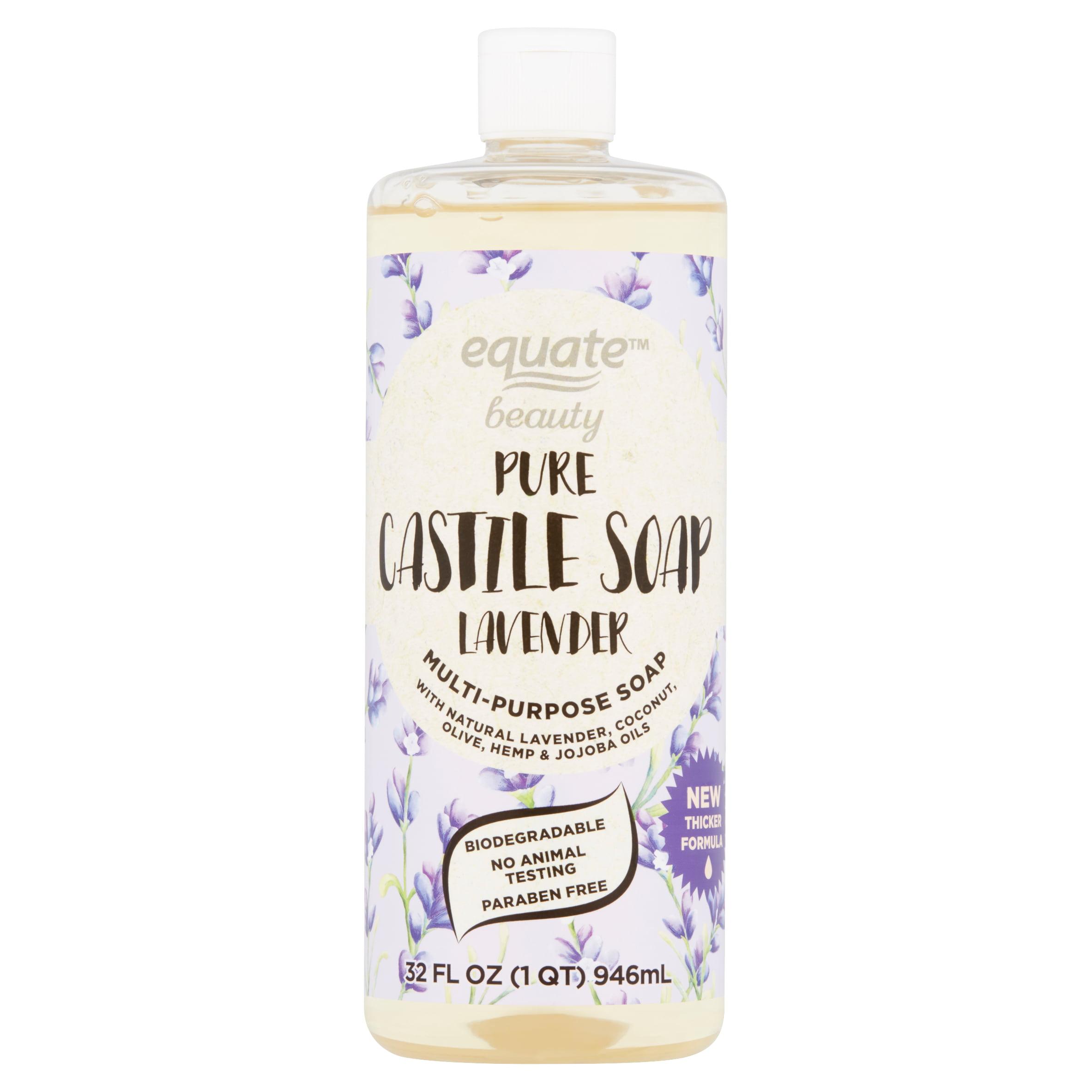 Equate Beauty Lavender Pure Castile Soap 32 Fl Oz Walmart Com Walmart Com
