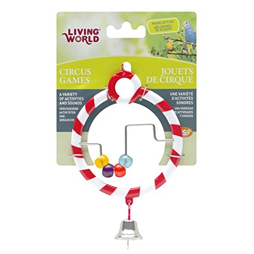 Living World Circus Abacus Toy, Red