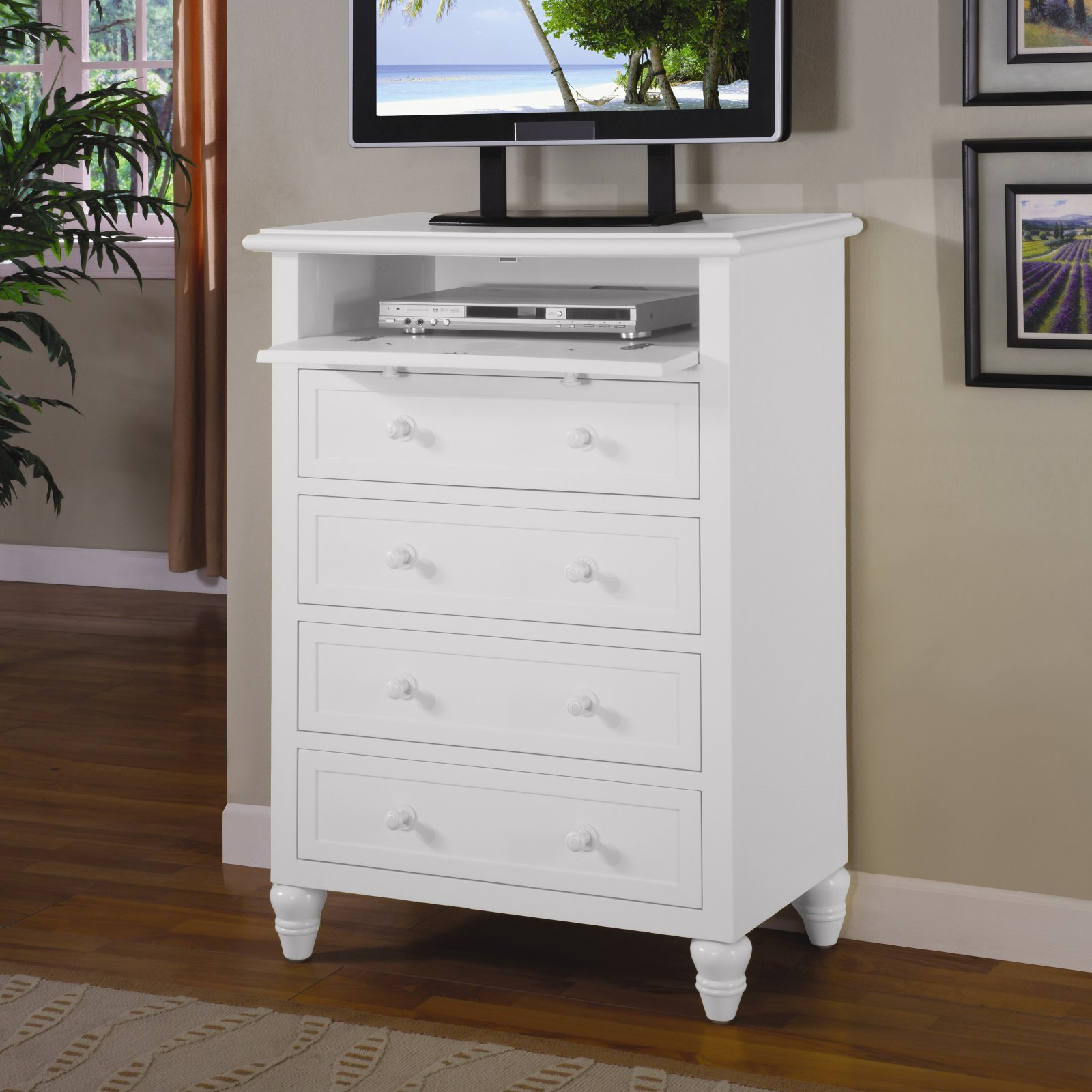 Sea Winds Trading Oceanside 5 Drawer Chest