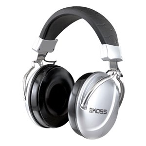 Koss TD85 Professional Headphone - Wired Connectivity - Stereo - Over-the-head - Silver