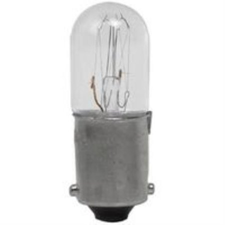 No.53M5350 Multicomp Aug-95-10Pk Lamp, Incandescent, Mini Bayonet, 130V, 2.6W