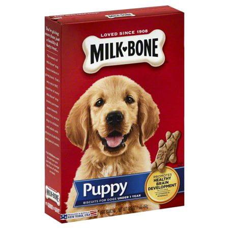 - Milk-Bone Original Puppy Biscuits, 16-Ounce 2 Pack
