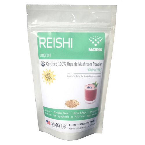 Mushroom Matrix Reishi - Organic - Powder - 3.57 oz